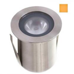 GAP GL109-A Amber LED Groundlight 1W S/S