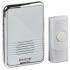 White Wireless Plug-in Door Chime (80m range)