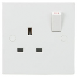 13A 1G SP Switched Socket
