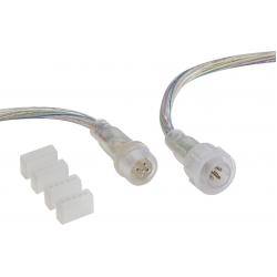 12V / 24V IP Connector - RGBW