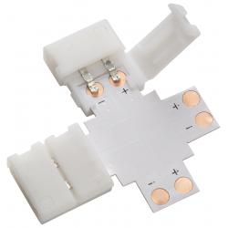 12V / 24V LED Flex 4-way connector - Single Colour