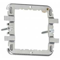 1-2G grid mounting frame for Flat Plate, Raised Edge & Metalclad