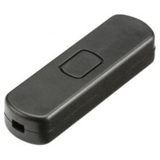 1-60W (1-25W LED) Re-wireable Cord Dimmer - Black