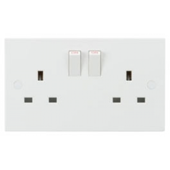 13A 2G DP Switched Socket